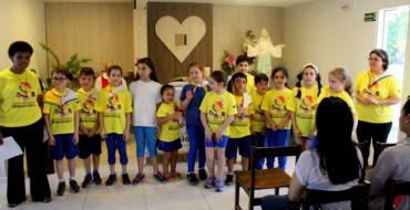 Missa na escola: Infância e Adolescência Missionária