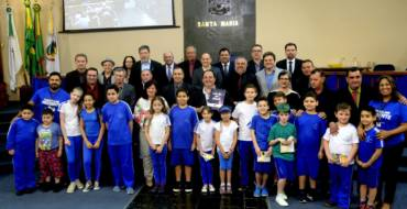 Moção de Congratulações – Câmara Municipal de Vereadores de Santa Maria