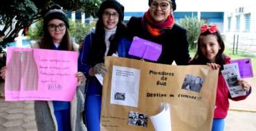 Educandos do 6º ano realizam Ação Social